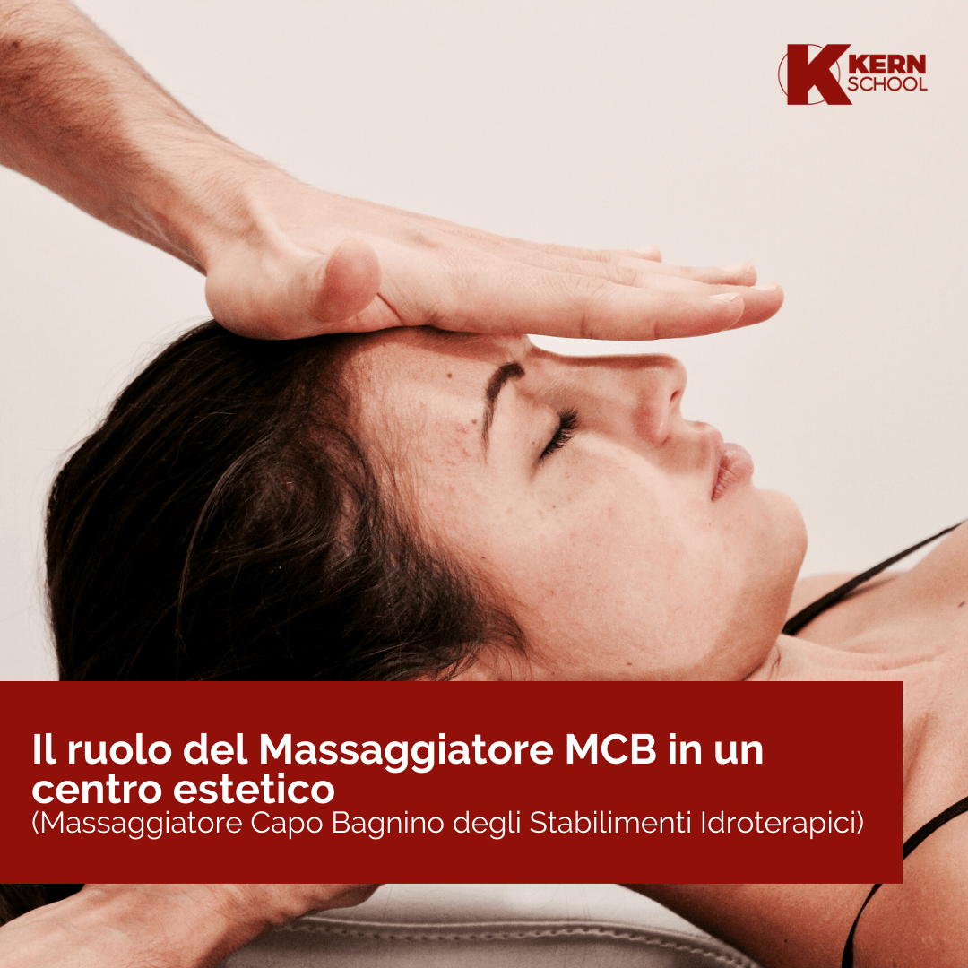 Massaggiatore MCB nel centro estetico