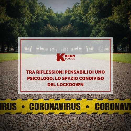 Lo psicologo nel lockdown da coronavirus