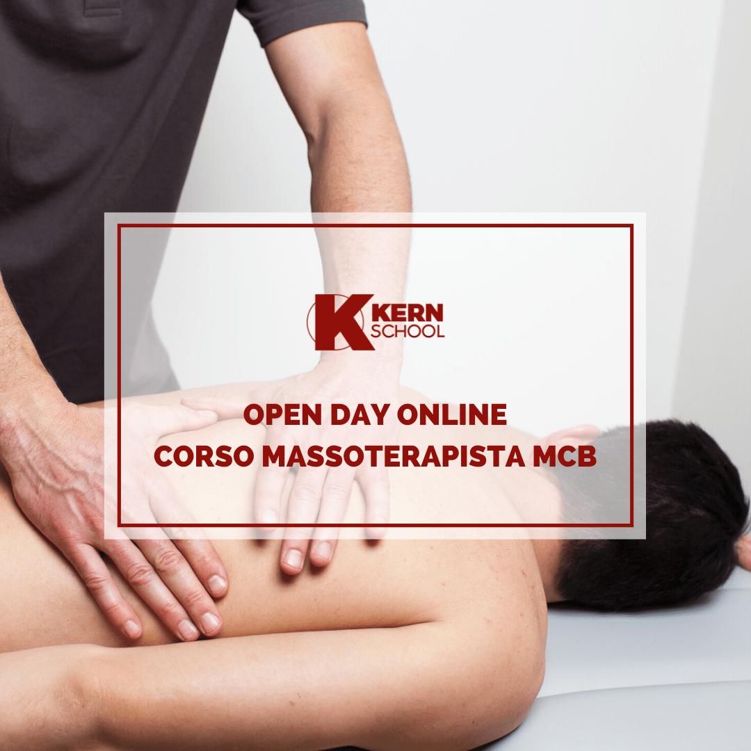 Open Day Corso MCB